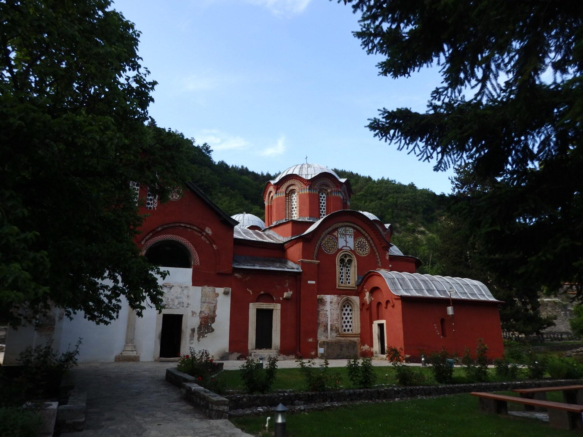 ペーチ総主教修道院内にある教会