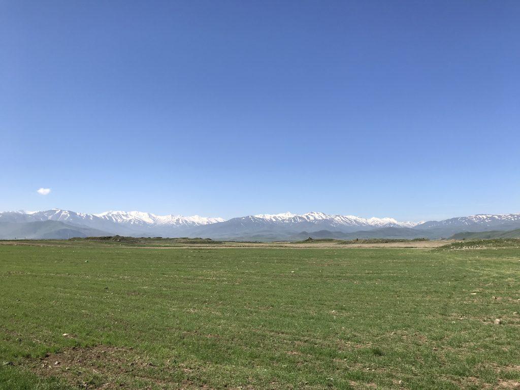 アルメニアとイランの国境近く