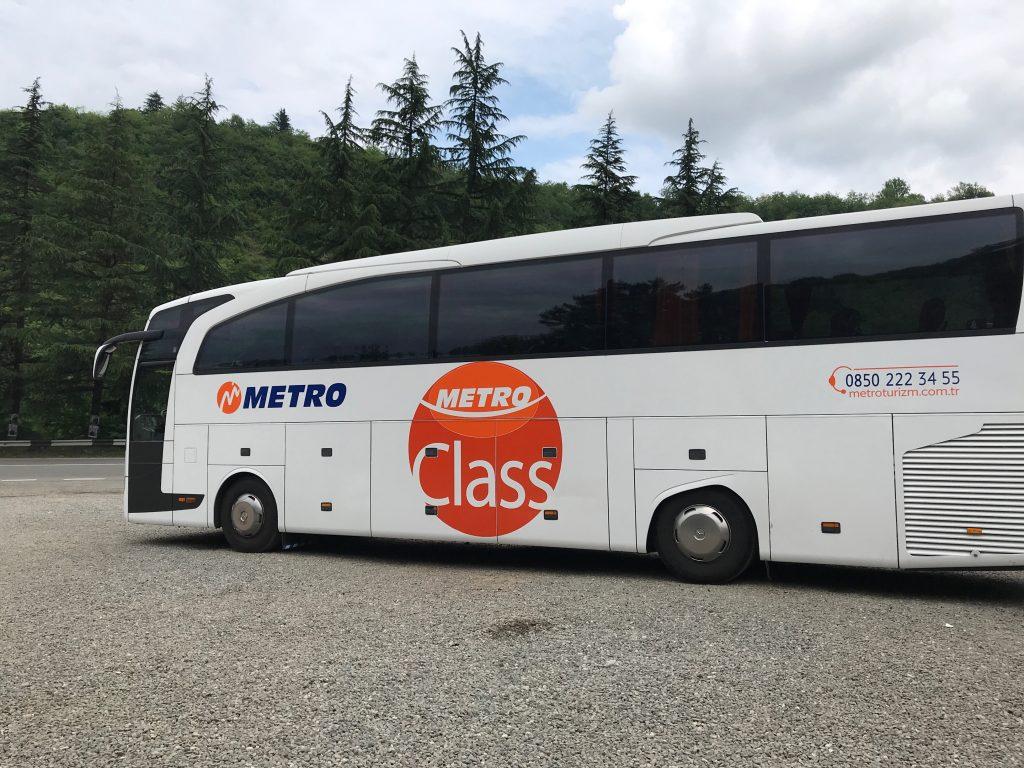 メトロ社のバス