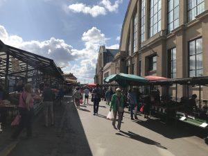 リガ中央市場