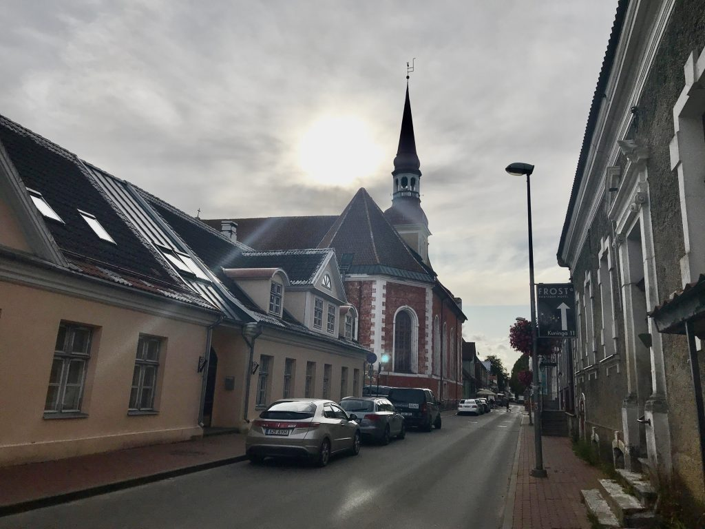 パルヌ旧市街