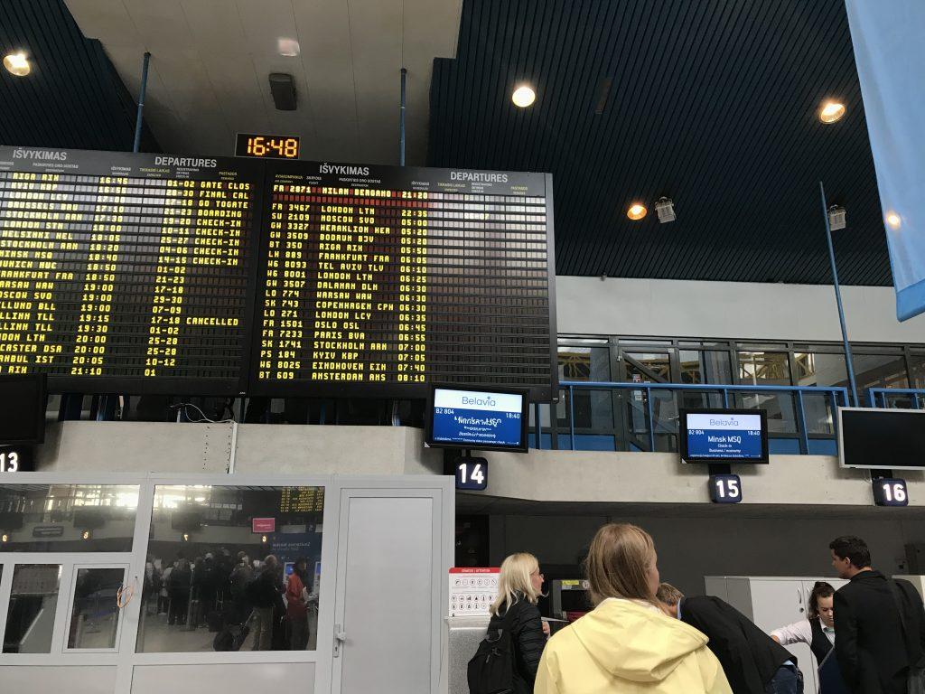 ビリニュス国際空港
