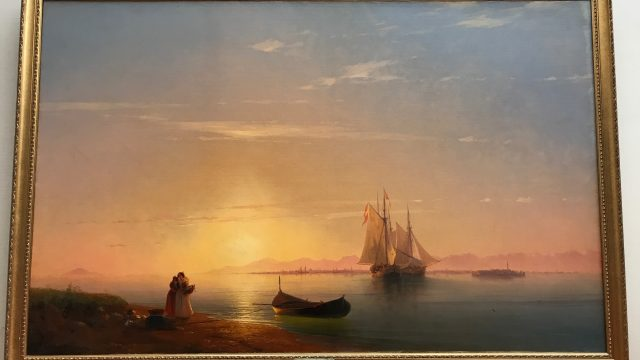 イヴァン・アイヴァゾフスキーの絵画