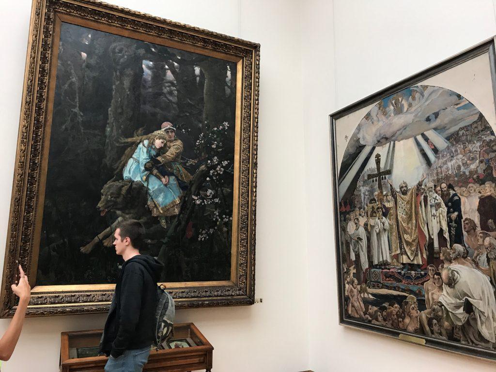 トレチャコフ美術館の絵画