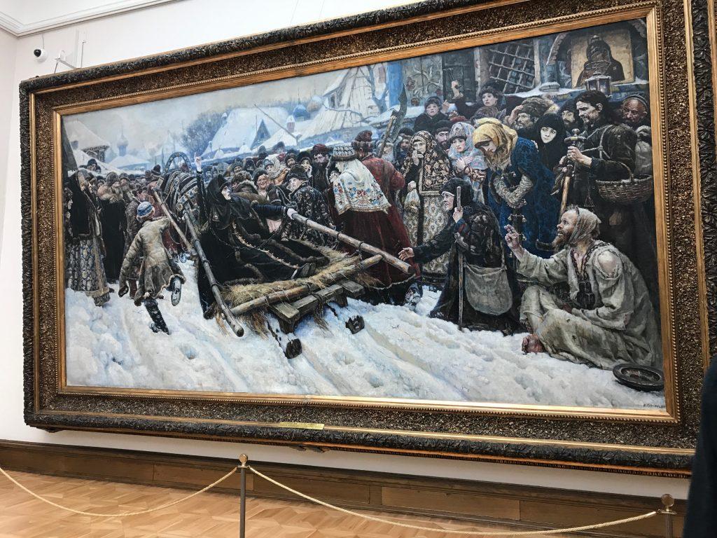 ワシーリー・スリコフの絵画